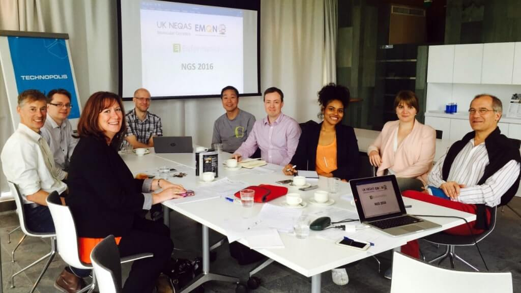EMQN, UK NEQAS, Euformatics meeting